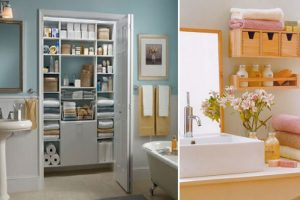 Ideas para organizar el cuarto de baño