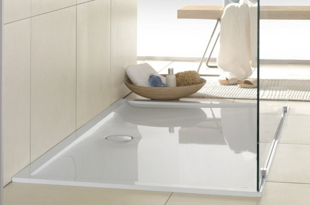 Plato de ducha c mo elegir e instalar modelos calidades y precios - Como instalar un plato de ducha acrilico ...