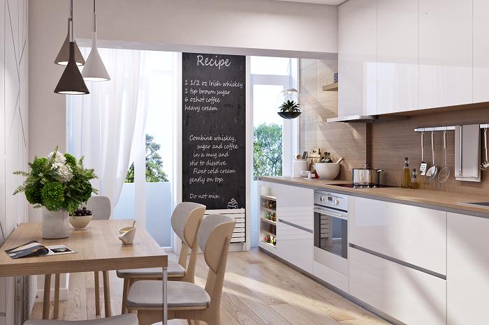 Materiales para paredes de cocina