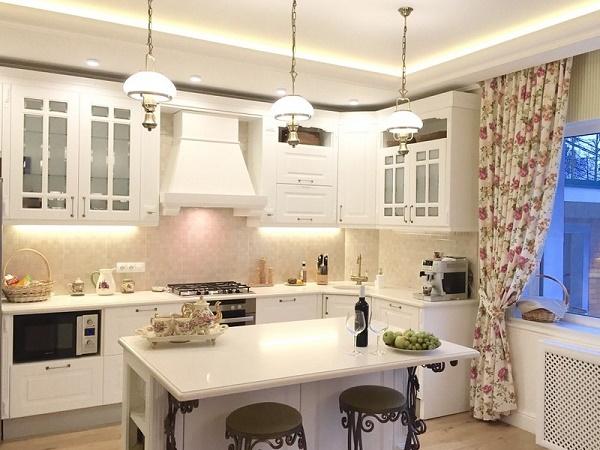 Diseño de isla de cocina