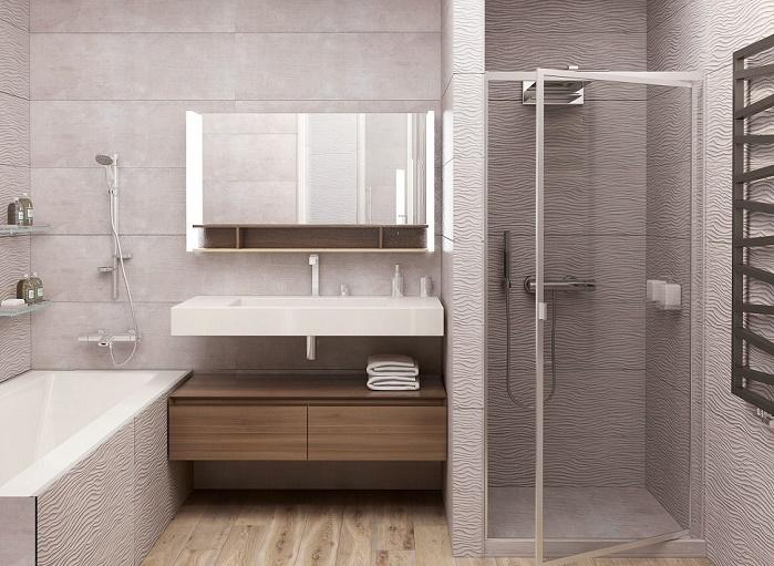 Revestimientos y aparatos para baño