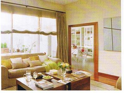 Qu elegir cortinas o estores - Cortinas para salon comedor ...