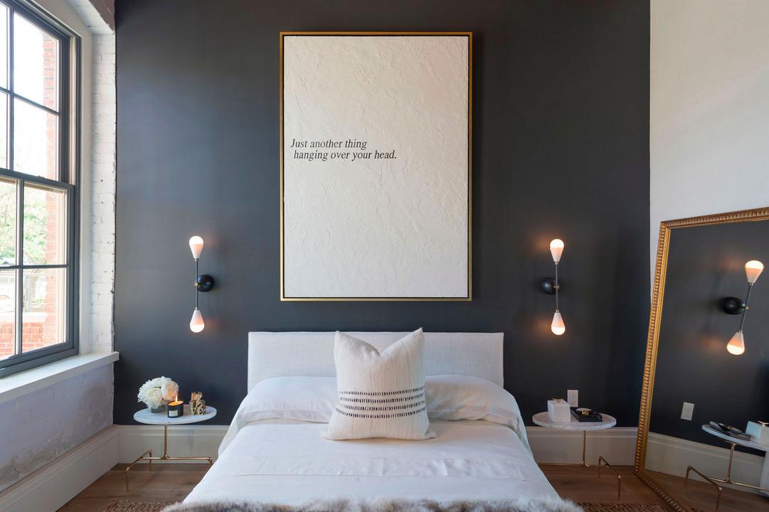 5 ideas para pintar tu casa de negro - Cuadros para una habitacion ...