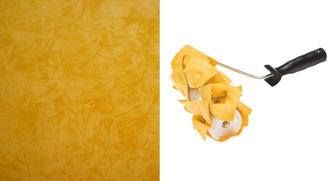 Pintar las paredes con rodillos decorativos - Pintura decorativa para paredes ...