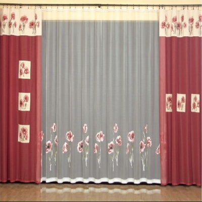 Pintar cortinas - Tipos de telas para cortinas ...