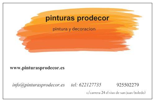 pintores prodecor